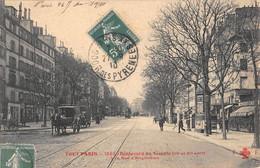 CPA 75 PARIS XIe TOUT PARIS BOULEVARD DU TEMPLE A LA RUE D'ANGOULEME - Arrondissement: 11