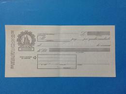 ITALIA REPUBBLICA CAMBIALE NUOVA IN BIANCO DA LIRE 1600 MILLESEICENTO - Bills Of Exchange
