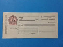 ITALIA REPUBBLICA CAMBIALE NUOVA IN BIANCO DA LIRE 3000 TREMILA - Bills Of Exchange
