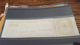 LOT552703 TIMBRE DE FRANCE NEUF** LUXE COLIS POSTAUX PARIS POUR PARIS - Mint/Hinged