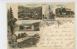 SAINTE MARIE AUX MINES - Gruss Aus MARKIRCH (1899) - Sainte-Marie-aux-Mines