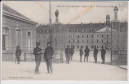 72 – LE MANS – MILITAIRE – Guerre Européenne 1914-15-16 – L'Artillerie Au Mans – 104eme Régiment D'Artillerie - Le Mans
