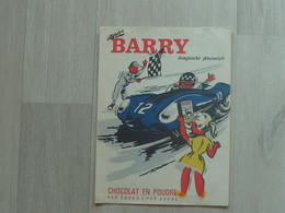 Beau Protège Cahier BARRY - Voiture - Collections, Lots & Series