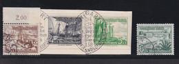 RAL2 /  Deutsches Reich 651 / 659 WHW Schiffe / Rundstempel - Gebraucht