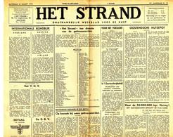 Het Strand, 24 Ste Jaargang. 25 Maart 1944 (BAK-2) Oostende - Ostende - Sin Clasificación