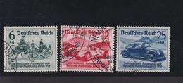 RAL2 /  Deutsches Reich 686 - 688 Automobil Ausstellung VW Käfer/ Rundstempel - Gebraucht