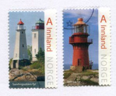 NORWAY 2016 Lighthouses II Used.  Michel 1921-22 - Usati