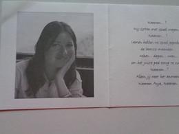 Doodsprentje/Bidprentje    Anja LASEURE   Oostende 1971-2009 Ieper - Religion & Esotérisme