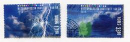 NORWAY 2016 Meteorological Service Used.  Michel 1916-17 - Usati