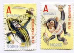 NORWAY 2016 Kristiansand Zoo Used.  Michel 1914-15 - Usati