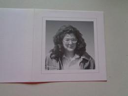 Doodsprentje/Bidprentje  Karine DEFORCHE  Roeselare 1973 - 1995  Ongeval  (Echtg Geert D'HONDT) Lid K.L.J. - Religion & Esotérisme