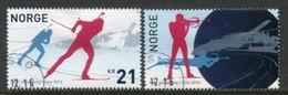 NORWAY 2016 Biathlon World Championship Used.  Michel 1904-05 - Usati