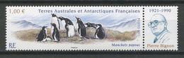 TAAF 2011  N° 595 **  Neuf MNH Superbe Faune Oiseaux Birds Manchots Fauna Baie Du Marin Pierre Bignon - Unused Stamps