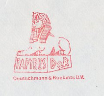 Meter Cover Netherlands 1985 Sphinx - Lion - Rotterdam - Egyptology