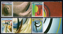Gibraltar 2003 Mi# 1032-1035 ** MNH - Europa / Poster Art - Gibilterra