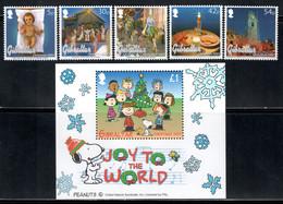 Gibraltar 2003 Mi# 1058-1062, Block 58 ** MNH - Christmas - Gibilterra