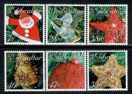 Gibraltar 2004 Mi# 1111-1116 ** MNH - Christmas Tree Ornaments - Gibilterra