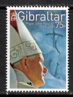 Gibraltar 2005 Mi# 1137 ** MNH - Pope John Paul II - Gibilterra