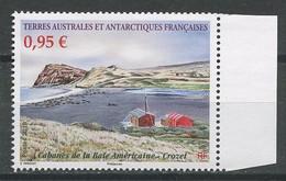 TAAF 2019  N° 882 ** Neuf MNH Superbe Cabanes De La Baie Américaine Crozet - Unused Stamps
