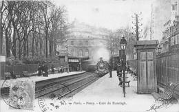 PARIS - 16ème Arrond -  PASSY - Gare Du Ranelagh - Arrondissement: 16