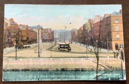 INGHILTERRA - GRAND PARADE ,CORK  - POST CARD TO CORK  AU 12 04 - TO LONDON - Monde