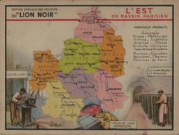 Lion Noir - L'Est Du Bassin Parisien - Werbepostkarten