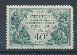 Soudan  N°89* Exposition De Paris - Unused Stamps