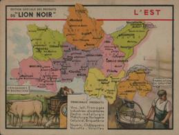 Lion Noir - L'Est - Werbepostkarten