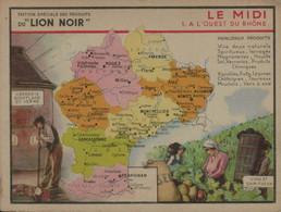 Lion Noir - Le Midi - 1 - A L'Ouest Du Rhône - Werbepostkarten