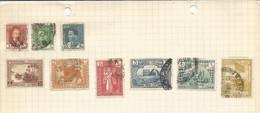 JP / Timbre IRAQ  Lot De  9 TIMBRES  Postage Revenue IRAQ - Iraq
