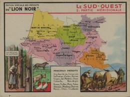 Lion Noir - Le Sud-Ouest 2 Partie Méridionale - Werbepostkarten