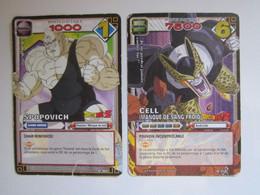 2 Cartes Dragon Ball 300 - 316 - Dragonball Z