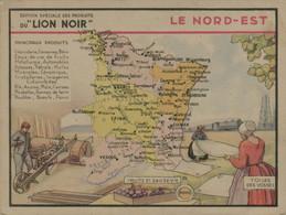 Lion Noir - Le Nord-Est - Werbepostkarten