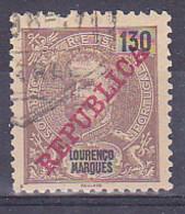 "Portugal Lourenco Marques Mozambique 1911 ""D. Carlos I REPUBLICA"" Condition 0 Mundifil #88 (130c) - Gebruikt"