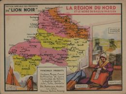 Lion Noir - La Région Du Nord Et Le Nord Du Bassin Parisien - Werbepostkarten