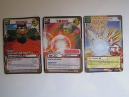 3 Cartes Dragon Ball 258 - 502 - 183 - Dragonball Z