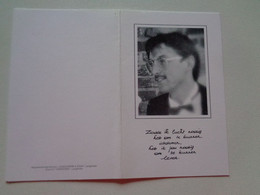 Doodsprentje/Bidprentje  Benny Prosper Cornelius BEQUOYE  Ieper 1964-1993   (Echtg Patricia BISSCHOP) - Religion & Esotérisme