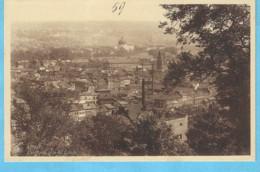 Liège-+/-1930-Panorama Pris De Cointe-Basilique Du Sacré-Coeur (Coupole)-Cheminées D'usine - Liege