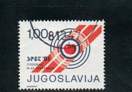 YOUGOSLAVIE 1981 O - Liefdadigheid