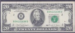 20 Dollars 1990-2 - Federal Reserve (1928-...)