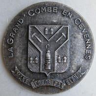 Médaille La Grand Combe En Cévennes, La Ville Reconnaissante à Ses Donneurs De Sang - Gard - Autres