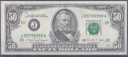 50 Dollars 1990-10 - Federal Reserve (1928-...)