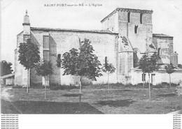SAINT FORT SUR LE NE L'EGLISE TBE - Otros Municipios