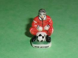 Fèves / Fève / Sports : Vive Le Foot  ( Grand Modèle  )T26 - Sport