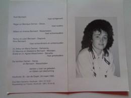 Doodsprentje/Bidprentje  Carmen DEMAN  Roeselare 1965-1992 Houthulst   (Echtg Rudi Bernaert) - Religion & Esotérisme