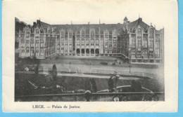 Liège-+/-1900-le Palais De Justice -Edit.VED (Dos Blanc) - Liege