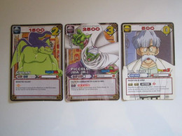 3 Cartes Dragon Ball 296 - 299 - 139 - Dragonball Z