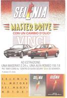 £700 CASTELLI CARTOLINA SELENIA MASTER DRIVE - Werbepostkarten
