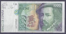 1000 Pesetas 1992 - [ 4] 1975-… : Juan Carlos I