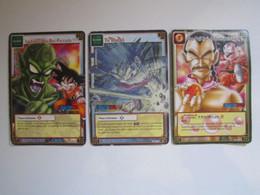 3 Cartes Dragon Ball 345 - 286 - 195 - Dragonball Z
